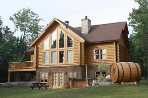 Chalet for rent-meeting with family and friends spa and sauna West Island Greater Montréal image 5