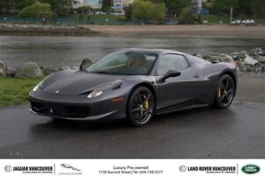 2013 Ferrari 458 Spider * Low km - Very Nicely Equipped!