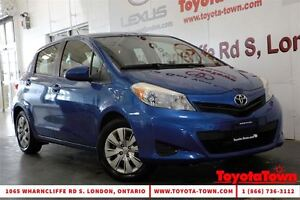 2012 Toyota Yaris SINGLE OWNER LE HATCHBACK