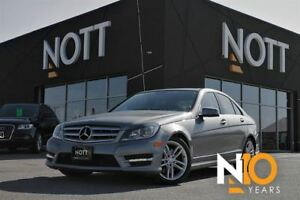 2013 Mercedes-Benz C-Class 300 4MATIC, Navigation, Sunroof, Heat