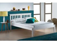 White painted Double Bed Frame