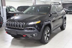 2016 Jeep Cherokee TRAILHAWK PLUS 4X4 *FULL CUIR/TOIT/NAV/CAMERA