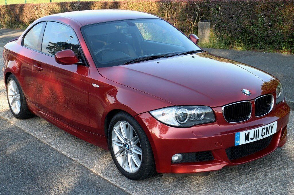 2011 (11) BMW 1 Series 120D M-Sport Coupe 85K Diesel FSH Genuine Car for sale due to relocation