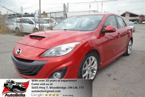 2012 Mazda Mazdaspeed3 NAVIGATION NO ACCIDENT ONE OWNER