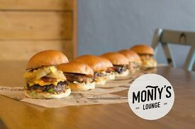 Full Time Chef required - Monty's Lounge