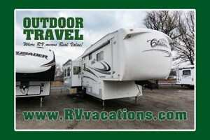 2007 General Coach CITATION PLATINUM XL 34.5 CKTS USED 5TH WHEEL