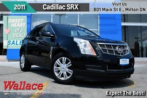 2011 Cadillac SRX ACCIDENT-FREE/HEATED SEATS/REAR VIEW CAM/18 WH