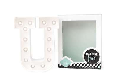 American Crafts LED Marquee Letter Kit, - Letter U Crafts