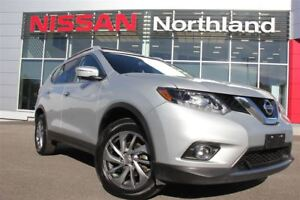 2015 Nissan Rogue SL/Leather/Navigation/Moonroof/AWD