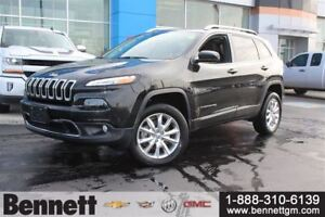 2015 Jeep Cherokee Limited - Leather heated seats, 4X4