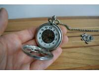 Pocket Watch with chain - mechanical