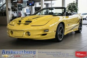 2002 Pontiac Trans Am Convertible - COLLECTORS EDITION! LOW KMS!