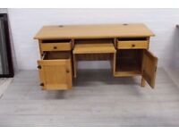 LARGE RUSTIC STYLE DESK IN GOOD CONDITION FREE LOCAL DELIVERY AVAILABLE 07486933766