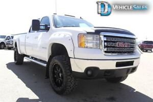 2012 GMC Sierra 3500HD SLT 4x4, 4x4, Diesel, Leather