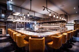 Waiter - Kitchen Table. Michelin Star, Sundays & Mondays OFF.