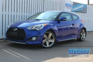 2013 Hyundai Veloster TURBO *201 HP* PADDLE SHIFTERS *SUNROOF*BL