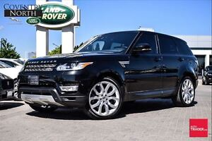2014 Land Rover Range Rover Sport V8 SUPERCHARGED|22' RIMS|VISIO
