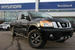 2013 Nissan Titan PRO-4X/Leather/4X4/Bed-Liner/Tow Hitch