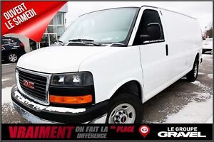 2016 GMC Savana 2500 - 6450 KMS - CAMERA - VERROUILLAGE ELECTRIQ