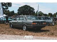 BMW e28 525E manual