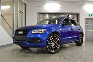 2017 Audi SQ5 3.0T Dynamic Edition *Bas KM + Comme neuf*