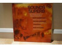 Bert Kaempfert, Michel Legrand, Chaquito & Ron Goodwin - Sounds Superb Vinyl Album