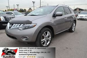 2009 Nissan Murano LE AWD Navigation Sunroof Camera No Accident