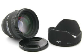 Sigma EX 50mm F/1.4 HSM DG Lens for Canon