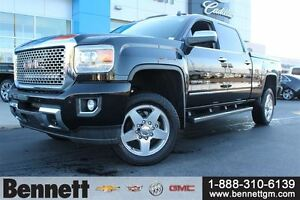 2015 GMC SIERRA 2500HD Denali -Diesel Z71 with 20 Rims, Nav, Sun