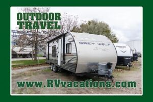 2014 FOREST RIVER GREY WOLF 25RR