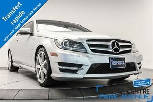 2012 Mercedes-Benz C350 4MATIC * -PROMO- GPS, TOIT PANO