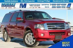 2014 Ford Expedition Max EL *SUNROOF*LEATHER*HEATED SEATS*