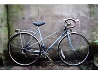 RALEIGH WISP, 20 inch, vintage ladies womens racer racing road bike, 5 speed