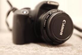 Canon dSLR Camera + 2 lenses