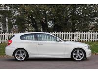 BMW 1 SERIES 1.6 116I M SPORT 3d 121 BHP RAC WARRANTY + BREAKDO (white) 2008