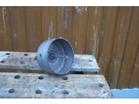 125mm Core Drill Bit, with Arbor & Pilot drill