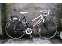 RALEIGH TOPAZ, 20 inch, 50 cm, vintage ladies womens, racer racing road bike, 5 speed
