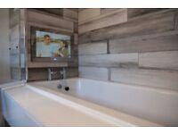 BATHROOM. central heating. plumbers. tilers.painters