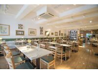 kitchen porter needed for Italian Restaurant in SE London