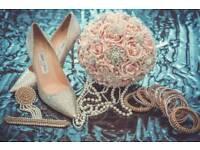 Bridal Flower Bouquet Dusky Pink