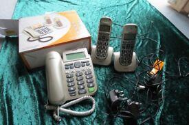 Binatone Speakeasy 3865 Combo Phone/Answermachine