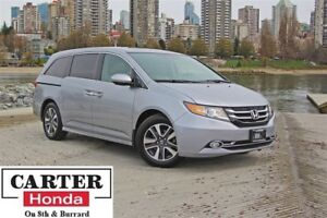 2016 Honda Odyssey Touring, low kms, no accidents, Certified!