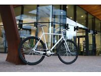 Brand new single speed fixed gear fixie bike/ road bike/ bicycles + 1year warranty & free service f8