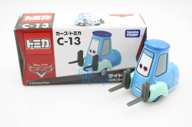Tomica Takara Tomy Disney Motors C-13 Guido Movie CARS 2 Diecast Toy Car