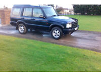 2000 Land rover Discovery TD5 7 Seater