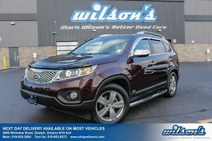 2013 Kia Sorento EX AWD! LEATHER! SUNROOF! HEATED SEATS! NEW TIR