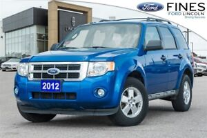 2012 Ford Escape XLT - 4 CYLINDER