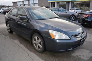 2004 Honda Accord WITH LEATHER & MOONROOF