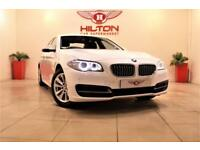 BMW 5 SERIES 2.0 518D SE 4d 141 BHP NO DEPOSIT NEED - DRIVE AWA (white) 2014