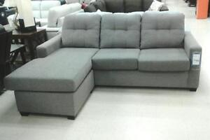 GREY SECTIONAL ON SALE: UPTO 50% REDUCED PRICE (AD 157)